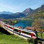Führerstandsfahrt mit der Zentralbahn von Luzern nach Interlaken Ost