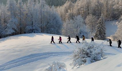 Schneeschuh-Vollmond-Events 2017/2018