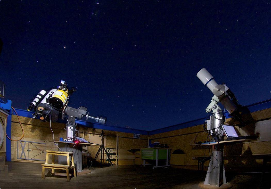 Sternwarte Simplon Perseiden-Meteore