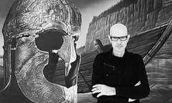 «Meine Vorstellungen und mein Konzept habe ich genau im Kopf», erklärt Henrik Frei Larsson das Entstehen seiner Werke. Bild Carlo Stuppia