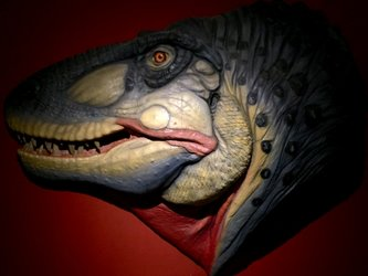 T-Rex lebend Rekonstruktion