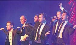 Die Überflieger von Bliss begeisterten das Publikum nicht nur mit gesanglichem Talent sondern auch mit akrobatischen Einlagen. Bild Christina Teuber