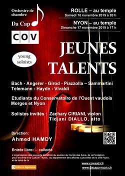 """Orchestra Da Capo - """"Jeunes Talents"""" (Orchestre Da Capo)"""