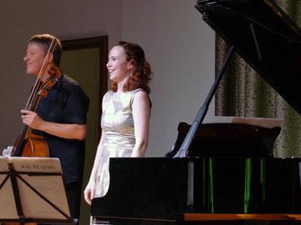 Thomas Grossenbacher und Yulia Miroslavskaya