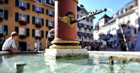 Brunnen auf dem Märetplatz