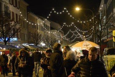 Weihnachtsmarkt Glarus (Bild: Jürg Huber, glarus24.ch)