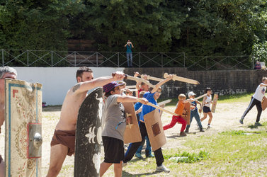 Kampfschule für Gladiatoren