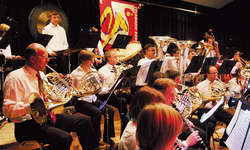 Die Blech-Register waren bei Sparks «Hanover Festival» gefragt. Foto: Franz Kälin