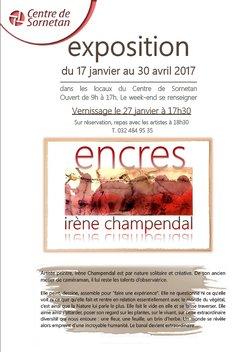 Exposition Encres & Senteurs - Irène Champendal - 1