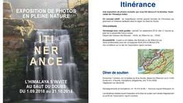 Expo photos en pleine nature : Itinérance