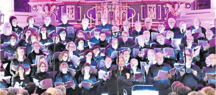 Die Linden Singers sorgten beim Publikum für Gänsehaut-Momente. (Bild PD)