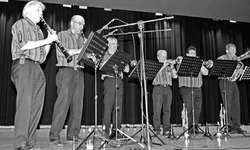 Die Rosendorf-Musikanten begeisterten das Publikum.