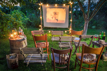 Movie Time Open Air Kino mit Sommernachtsbuffet - 1