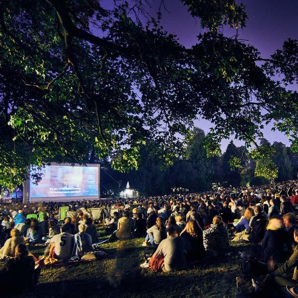 Open air cinema - CINETRANSAT