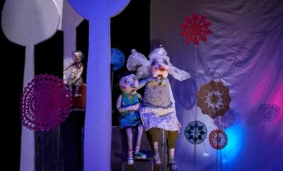 »Zugvögel» Figurentheater Lupine