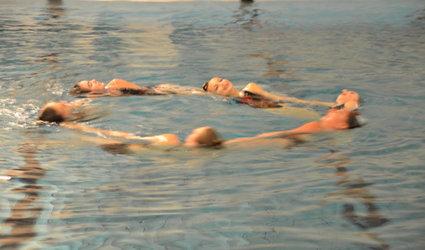 Schwimmshow zu Weihnachten