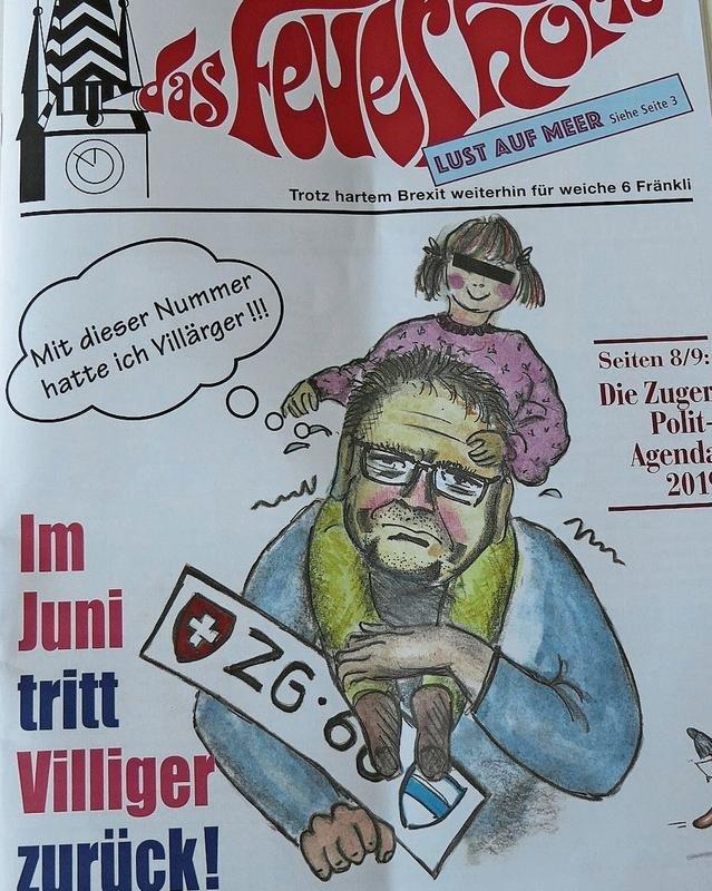 Das Titelblatt des «Feuerhorns» 2019. (Bild Sälber gmacht)