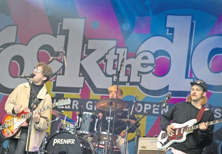 War letztes Jahr am Rock the Docks: die Band Cabinets. (Bild Maria Schmid)