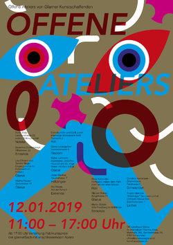 Flyer Offene Ateliers