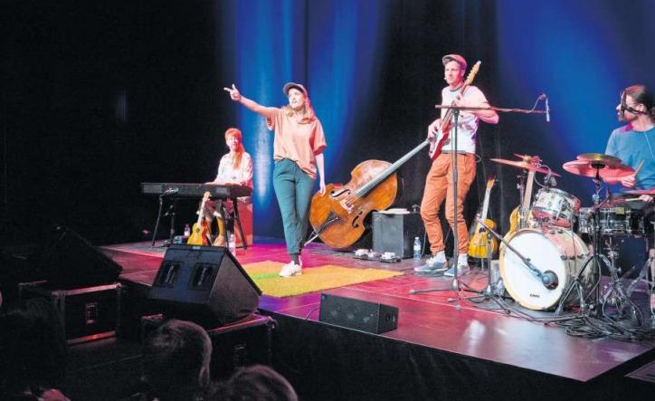 Das Konzert im Theater Casino Zug war gut besucht. (Bild Stefan Kaiser)