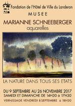 Marianne Schneeberger. La nature dans tous ses états !