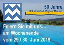50 Jahre Schwimmbad Region Messen