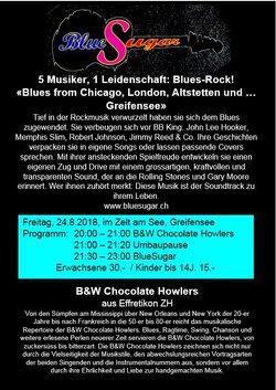 Blues Rock Konzert mit BlueSugar