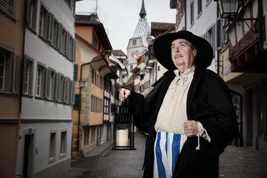 Öffentliche Zytturmwächter-Führung Zug Tourismus