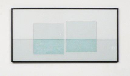 Jean Mauboules, N° 35, Glascollage, 2010