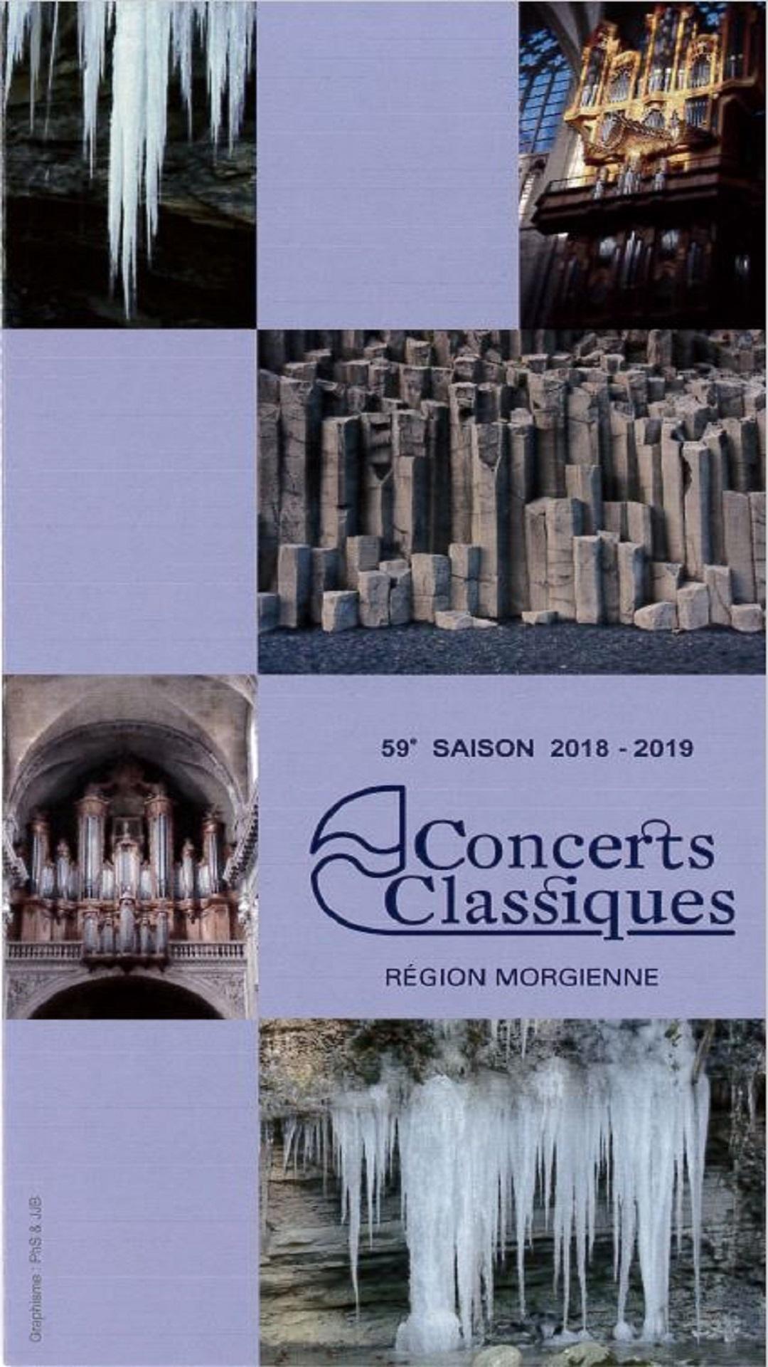 59e saison des Concerts Classiques de la région morgienne