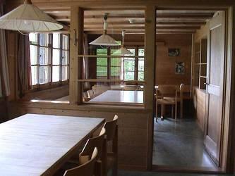 Die vier Essräume bieten total 90 Sitzplätze.