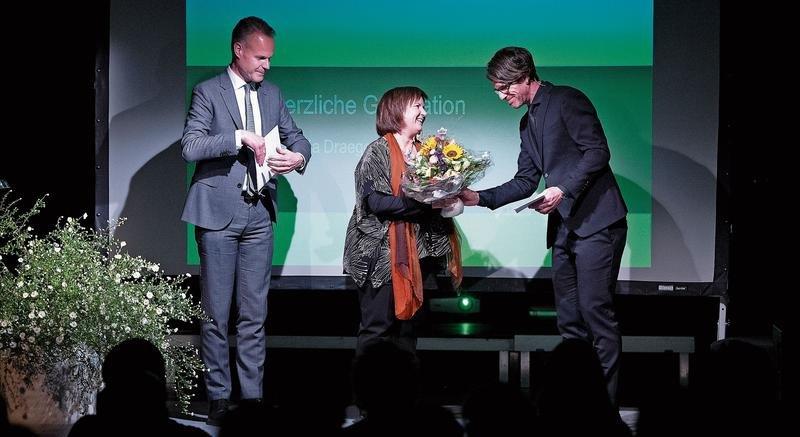Der mit 50000 Franken dotierte Preis Zuger Werkjahr geht an die Musikerin Patricia Draeger. (Bild Maria Schmid)