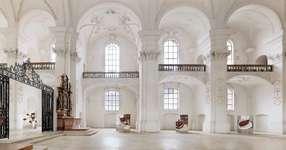 Summer exhibition in the Abbey (Fondation Abbatiale de Bellelay)
