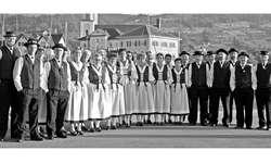 Das Jodelchörli Am St. Johann Altendorf: erst 23 Jahre alt, aber ein fester Bestandteil des Dorf- und Vereinslebens von Altendorf. Bild zvg