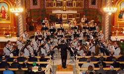 Das Kirchenkonzert in der Egger St. Johannes Kirche bildete den krönenden Abschluss des Jubiläumsjahres 75 Jahre Musikgesellschaft Egg. Bilder Franz Kälin