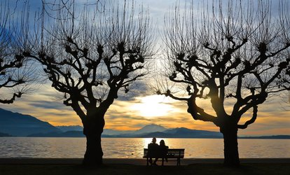 Verena Vieser: Baenkli für Verliebte, Zugersee-Promenade