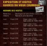 Exposition et visite du guidées du Vieux Courroux