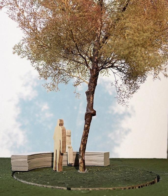 Bild aus der Projektstudie zum drehenden Baum.Bild PD/©VOGT