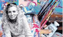 m 5. bis am 8. November stellt Tatjana Rusch Bilder unter dem Motto «Glücks- und andere Gefühle» vor.