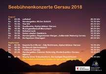 Seebühneenkonzert Gersau 2018