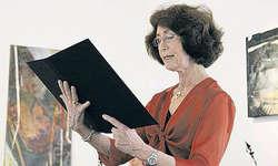 Klare Stimme: Die Sprecherin Antoinette Aberegg-Kirchhofer. (Bild Janine Schranz)