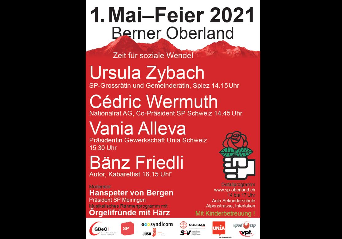 1. Maifeier 2021