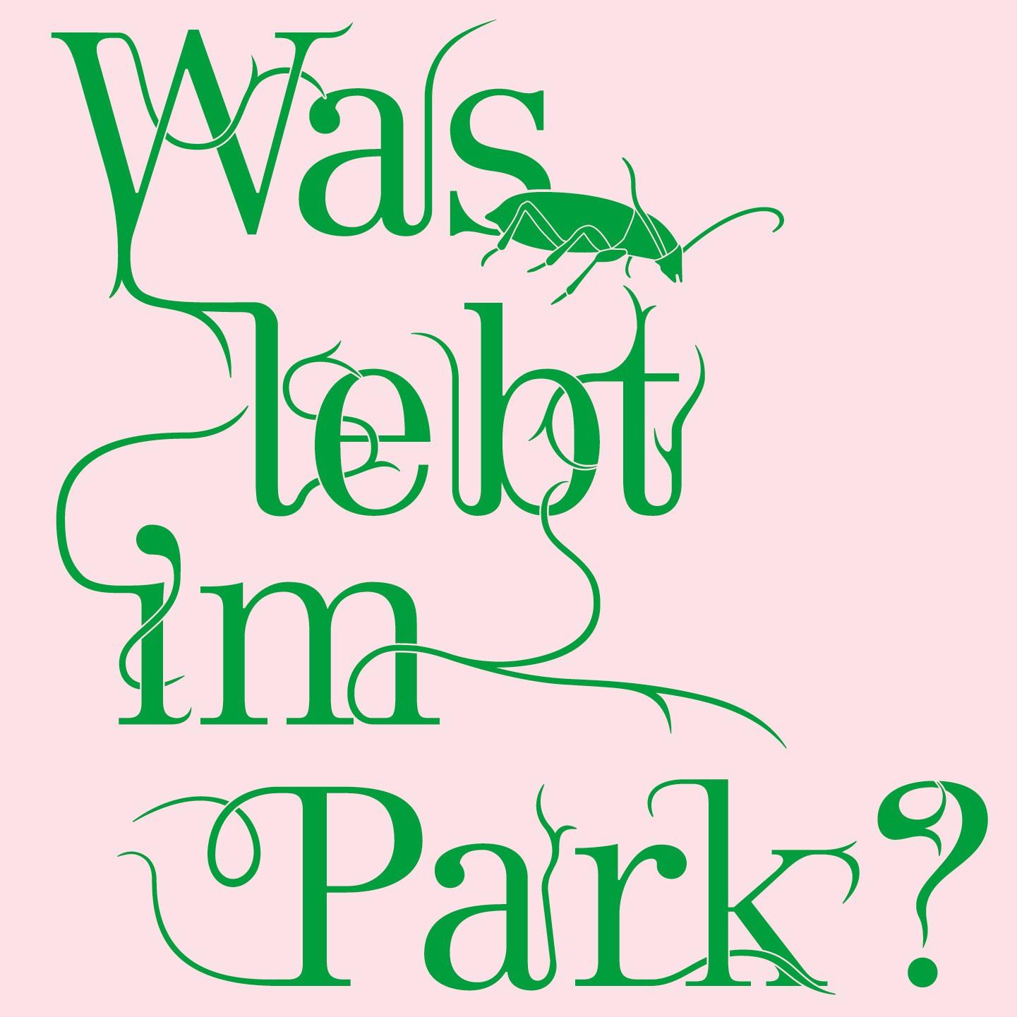 Was lebt im Park?