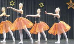 Die Tänzerinnen und Tänzer im Alter zwischen vier und 22 Jahren zeigten ein abwechslungsreiches Programm. Bild mü