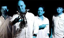 «Malmö, wir kommen»: Mit neuem Namen («The Slim Buddies») und altem Selbstvertrauen starten die fünf Steiner Musiker von «Polly Duster» ins dritte ESC-Abenteuer. (Bild: Roger Bürgler)