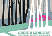 Exposition en plein air : Chemin Land Art 2018