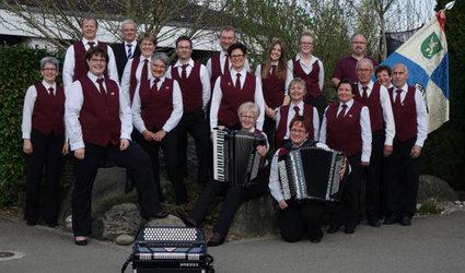 Kirchenkonzert des Akkordeonorchesters Grüningen