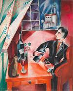 Otto Morach, Erwartung (Intérieur), 1918-1919 Öl auf Leinwand, 81 x 65 cm Aargauer Kunsthaus, Aarau / Depositum Sammlung Werner Coninx © Hugo Stüdeli, Solothurn Foto: SIK-ISEA, Zürich (Philipp Hitz)