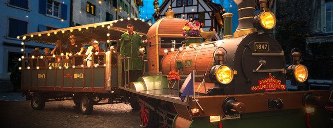 Spanischbrödlibahn Weihnachtsbahn