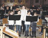 Die Egger Flötengruppe unter der Leitung von Sandra Zehnder